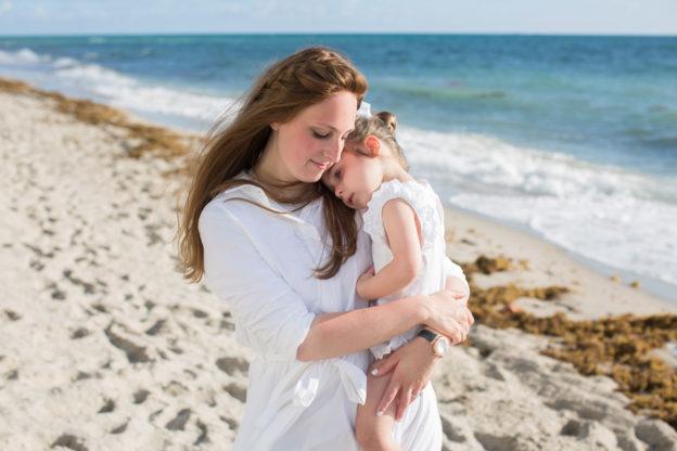 Sunny Isles Family Photographer Sunrise Beach Session