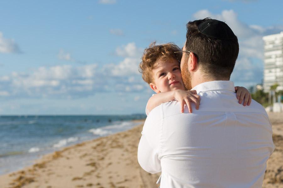 Bal Harbour Family Photographer Sunrise Beach Session