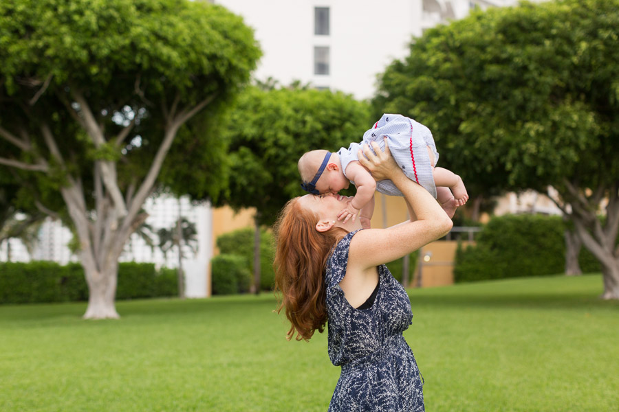Brickell Key Park Family Photographer