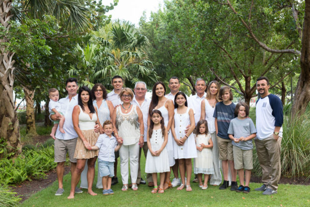 Extended Family Miami Beach Photo Shoot