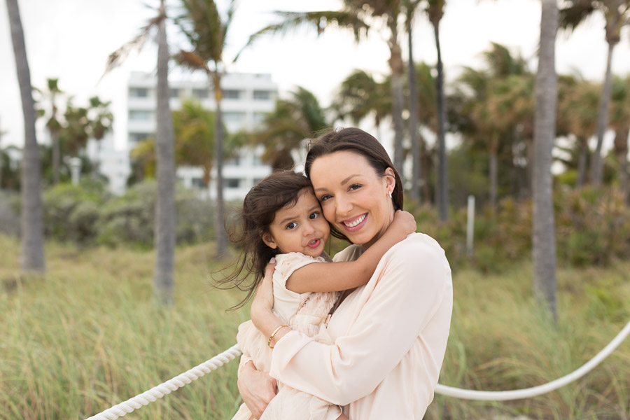 Miami Family Photographer Collins Beach Session