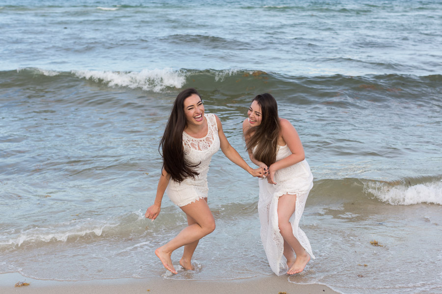 Sisters Photo Shoot Fontainebleau Miami Beach