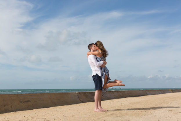 Cape Florida Lighthouse Surprise Proposal Photography