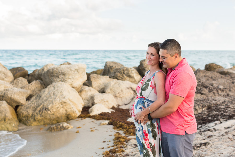 Miami Beach Edition Hotel Maternity Beach Photographer