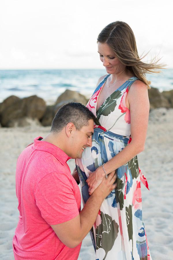 Miami Beach Edition Hotel Maternity Beach Photographer