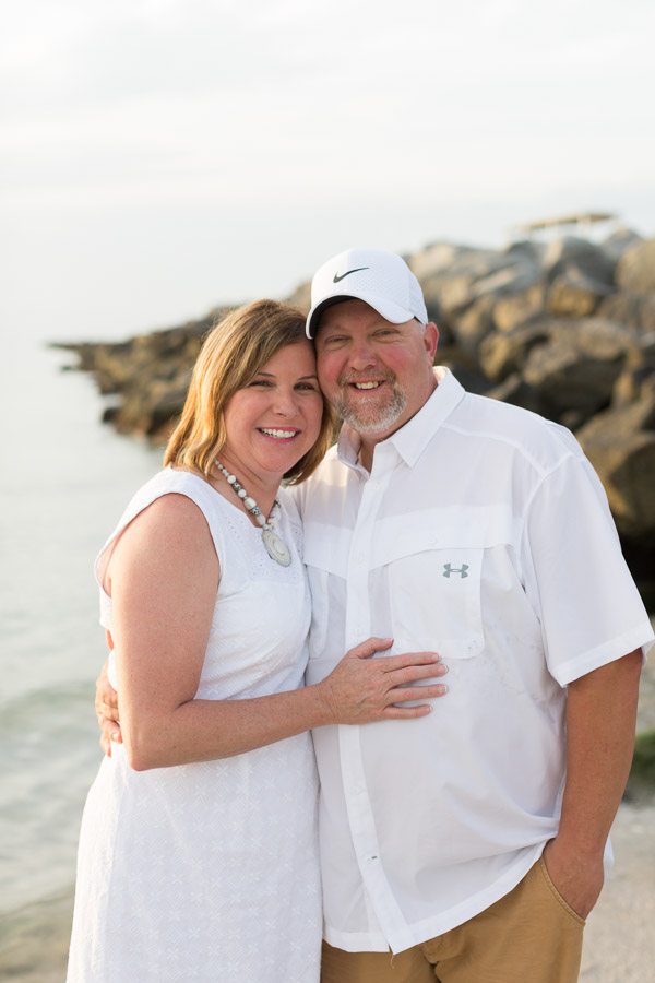 25th Wedding Anniversary South Beach Sunrise Session