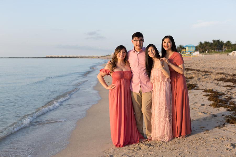 Marriott Stanton South Beach Family Photographer