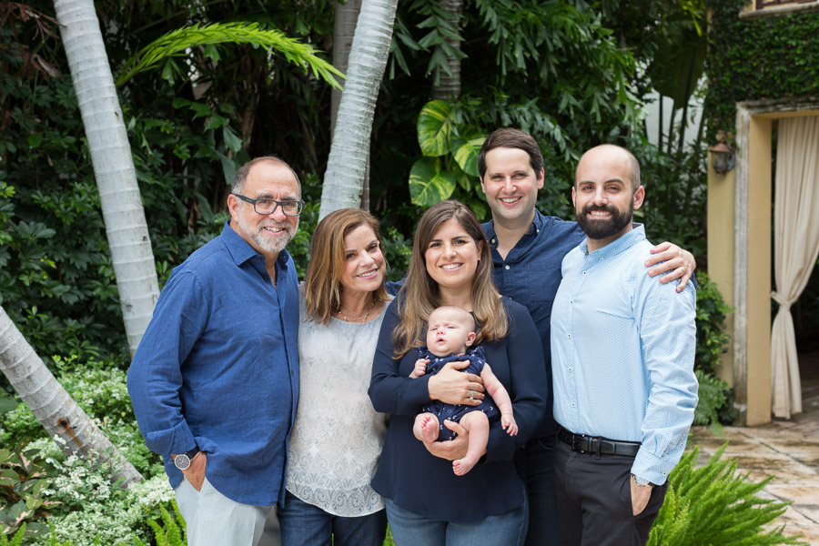 At Home Family Newborn Photography Venetian Miami