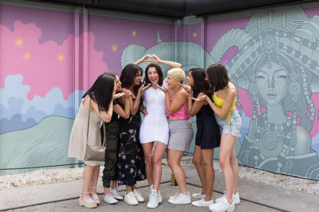 Bachelorette Wynwood Walls Miami Photographer
