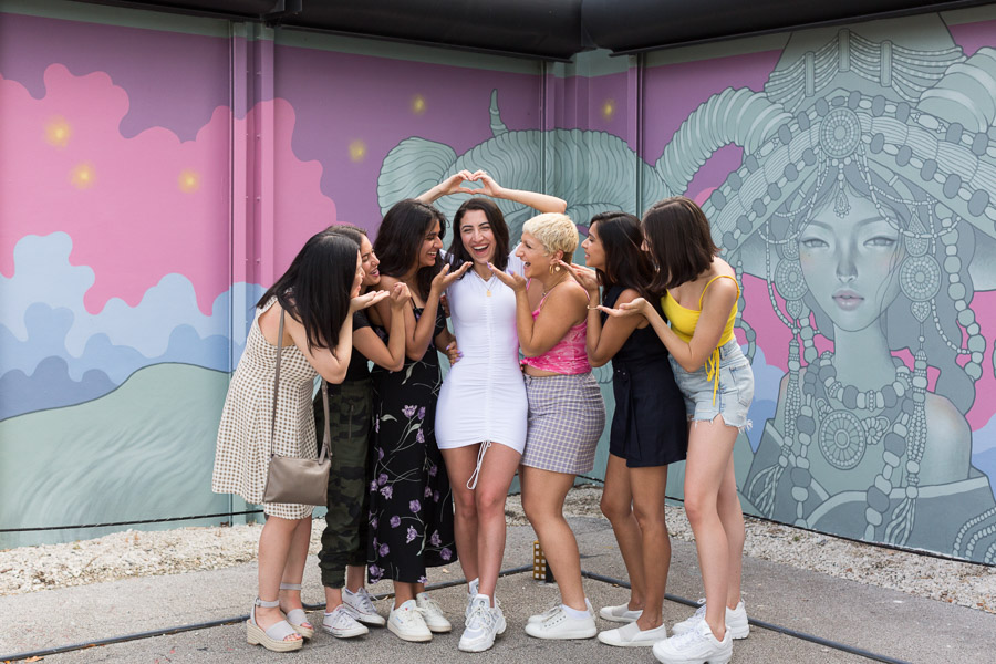 Bachelorette Wynwood Walls Miami Photographer
