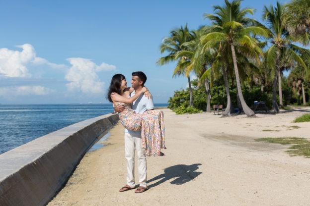 Cape Florida Lighthouse Key Biscayne Proposal Photographer