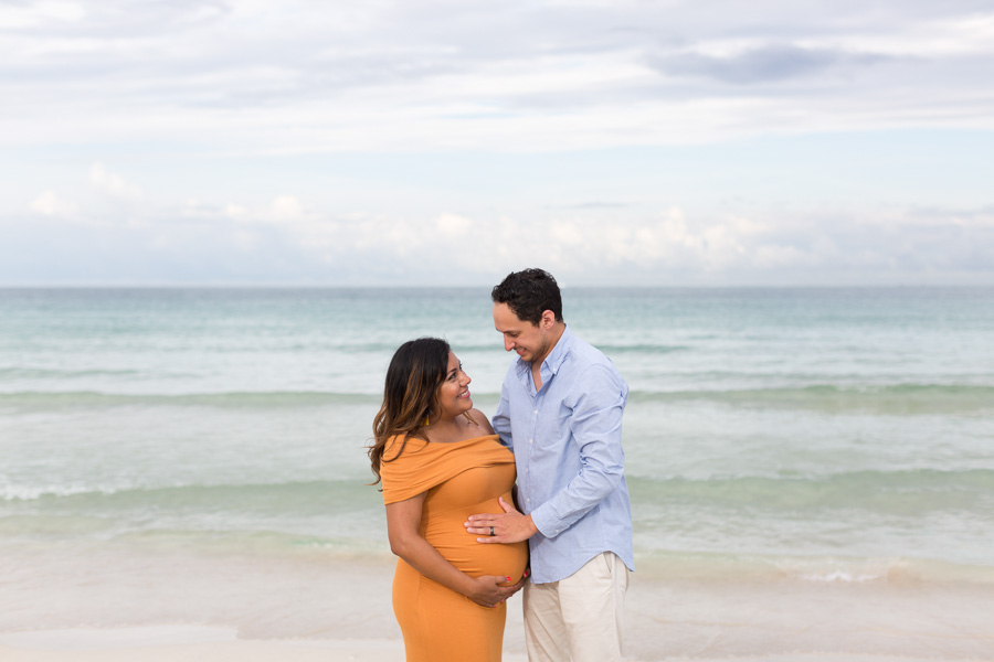 South Beach Maternity Photographer Sunset Session