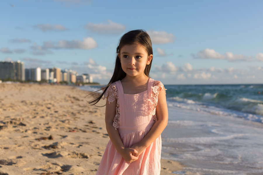Royal Palm South Beach Hotel Family Sunrise Beach Session