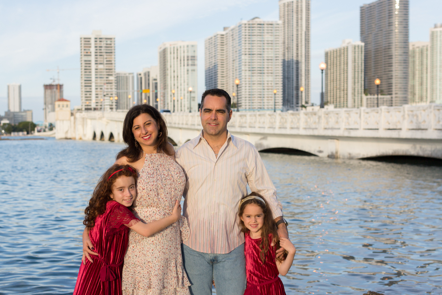 Venetian Causeway Park Miami Beach Family Photographer