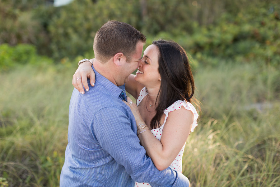 couple intimate engagement