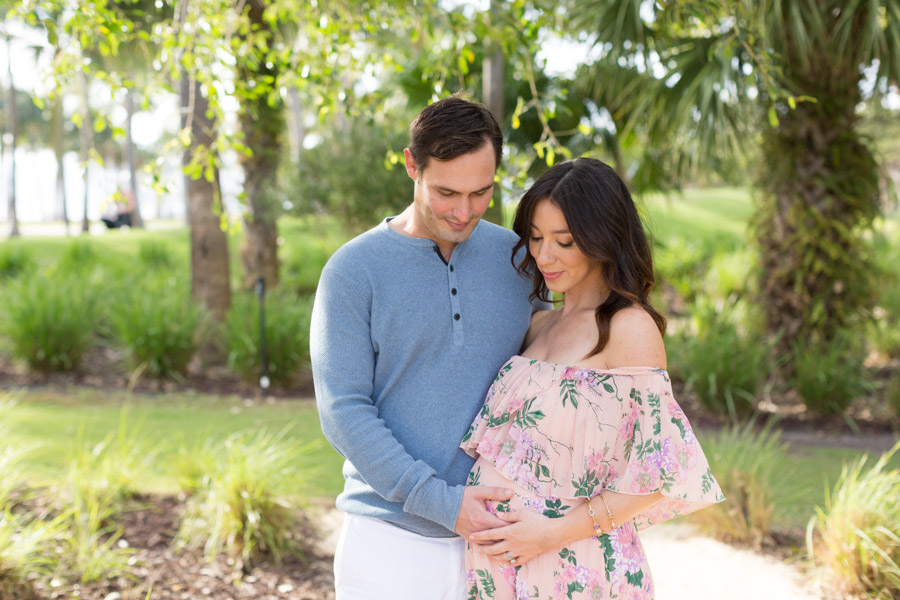 South Pointe Park Maternity Photographer