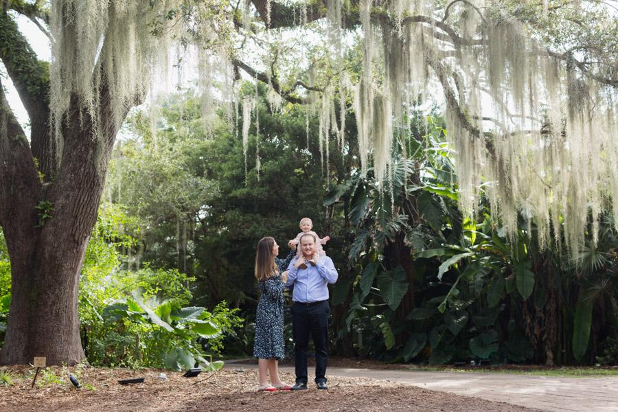 Fairchild Tropical Botanic Garden Family Photographer