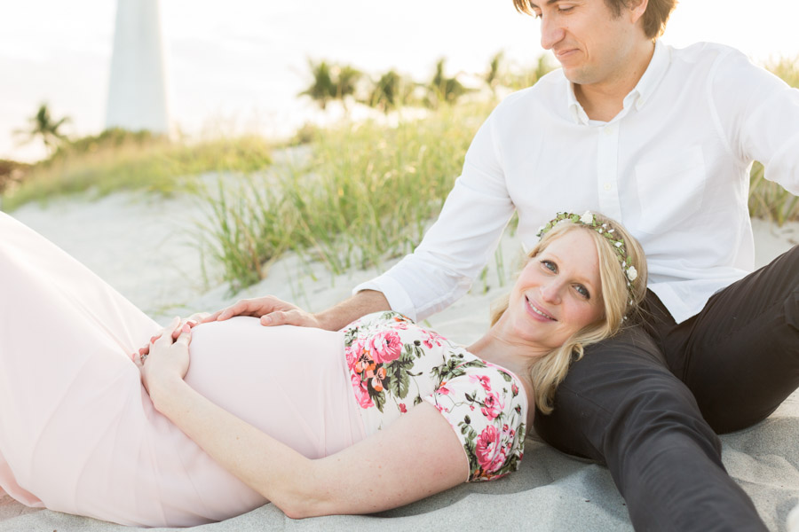 Key Biscayne Lighthouse Maternity Photographer