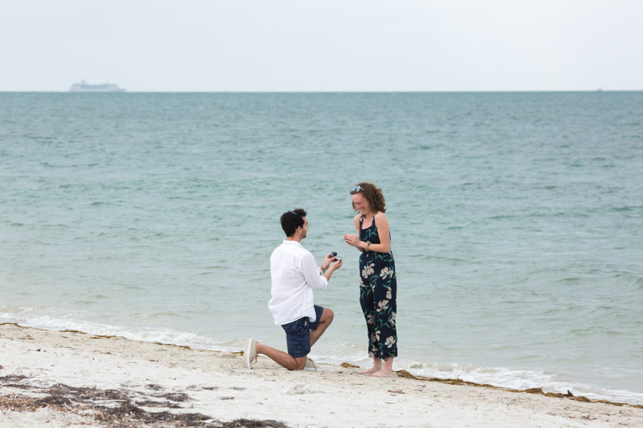 Key Biscayne Florida Proposal Photographer