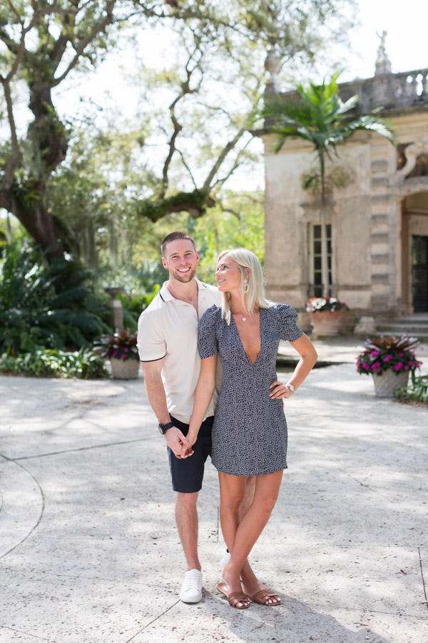 Surprise Proposal Vizcaya Gardens Miami Photographer