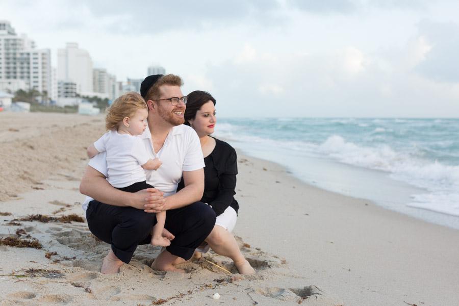 Seacoast Condo Miami Beach Family Photography