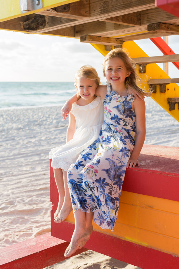 Collins Avenue Miami Beach Family Photography