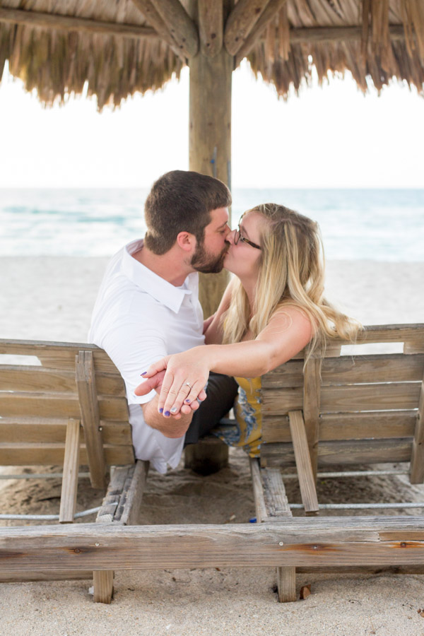 Newport Beachside Hotel Engagement Photography