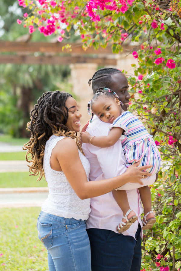 Family Photography Session Coral Gables Entrance Park
