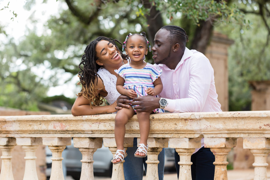 Family Photography Session at Coral Gables Entrance Park