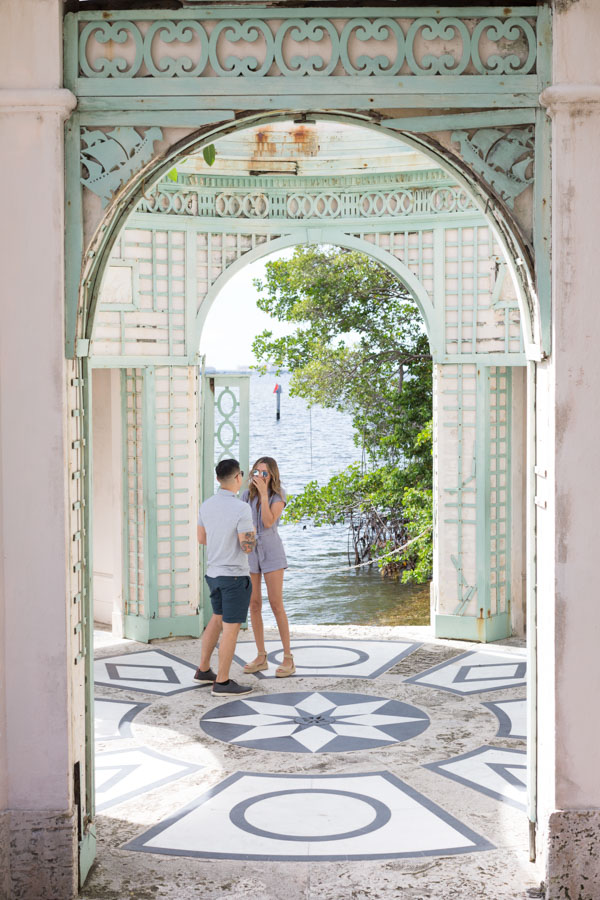 Vizcaya Museum Proposal Photographer
