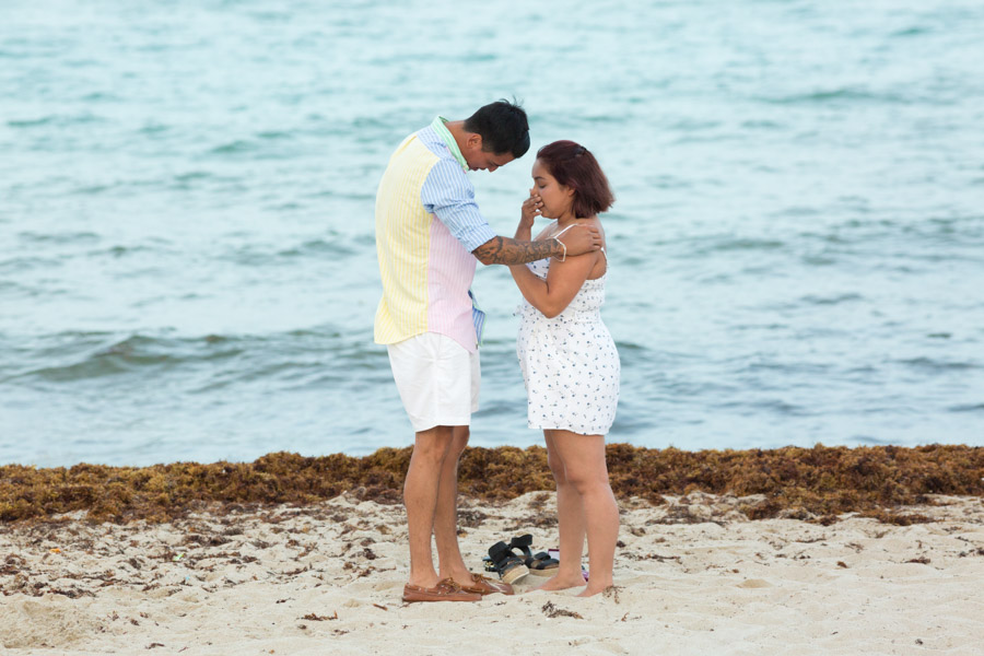 Marseilles Hotel South Beach Proposal Photography