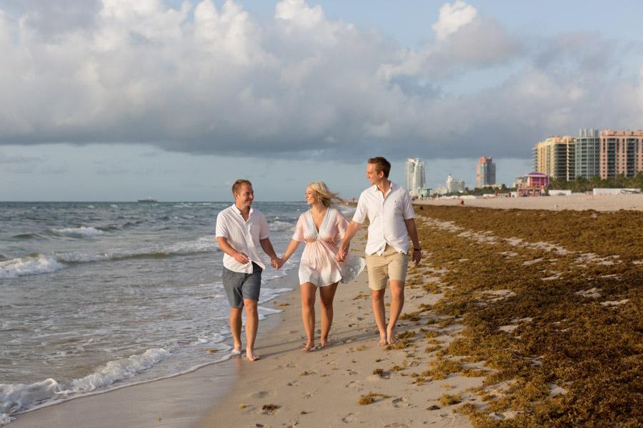 Shelborne South Beach Family Photo Shoot