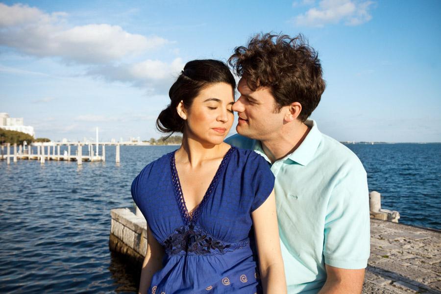couple at vizcaya water