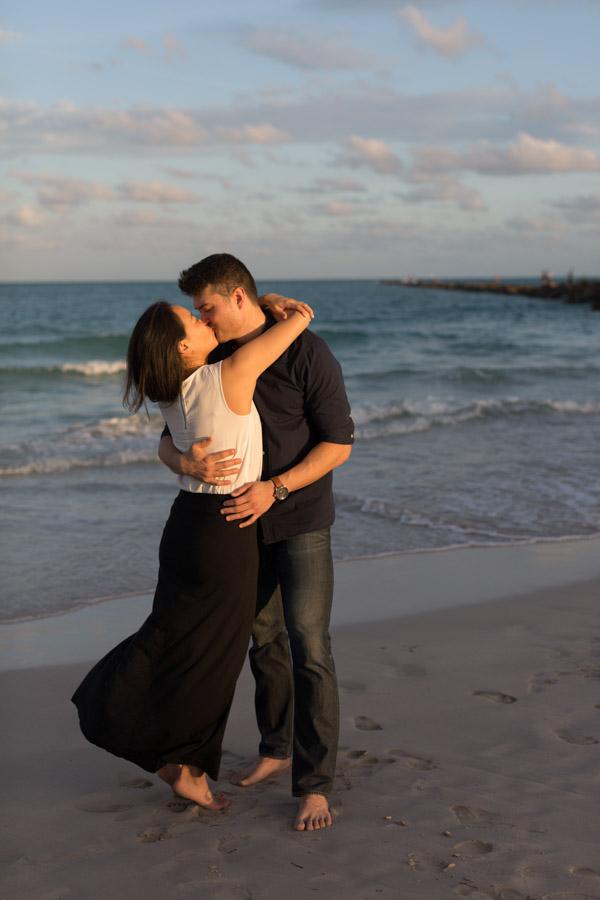 sunset kiss south beach