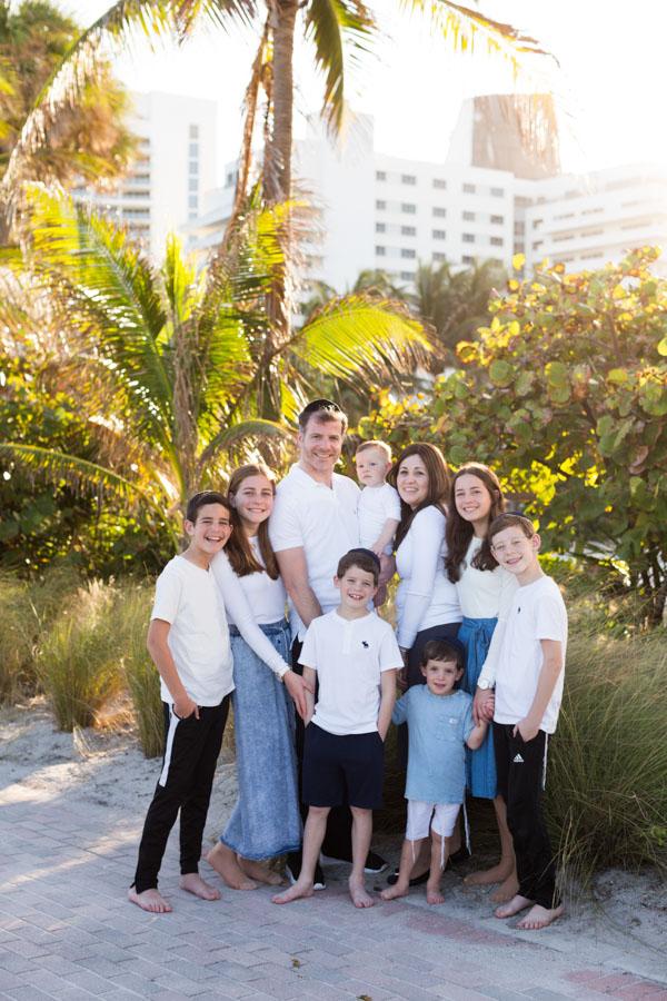 family of nine