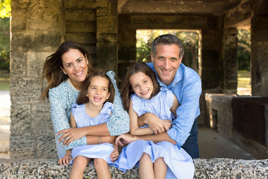 matheson hammock family photo shoot