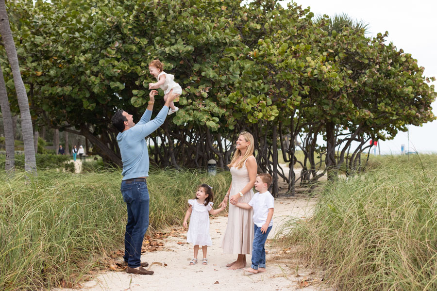 family of five bal harbour